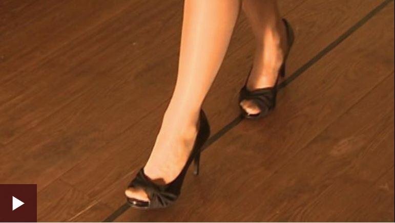 How To Walk Properly in Heels
